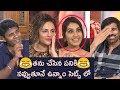 తను చేసిన పనికి నవ్వుతూనే ఉన్నాం | Ravi Teja, Raashi Khanna, Seerat funny chat | Touch Chesi Chudu