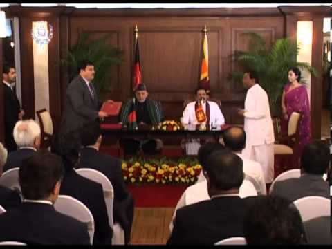 TV Report - President Karzai's State Visit to Sri Lanka