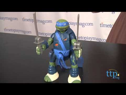 Teenage Mutant Ninja Turtles Throw N' Battle Leonardo from Playmates Toys