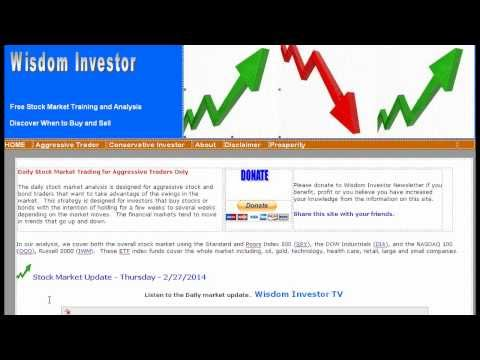 NYSE New York Stock Exchange Trend Indicator Bullish 2/27/14