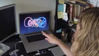 uMiranda unboxes the new LEAP MOTION Controller … The FUTURE is NOW.