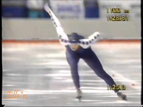 Winter Olympic Games Calgary 1988 – 1500 m Van Gennip (Gold) – Kleemann-Niemann