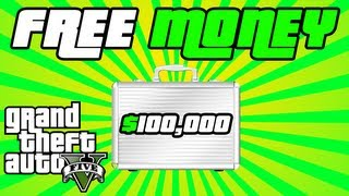 GTA 5 FREE & EASY MONEY TUTORIAL! $100,000+ ALL Secret