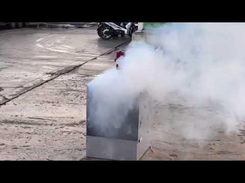 Benzin Yangını Tatbikatı