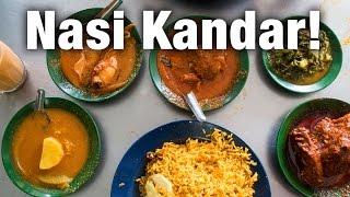Nasi Kandar in Penang: Insanely Good  Curry at Restoran Tajuddin Hussain