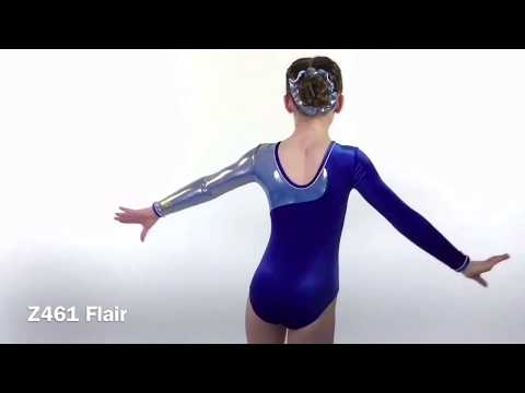 Flair Long Sleeve Leotard
