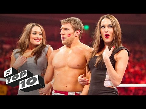 Unexpected kisses: WWE Top 10