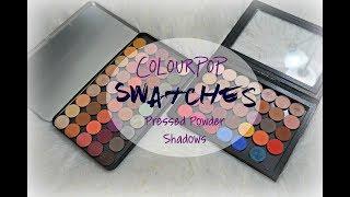 SWATCH FEST & REVIEW   ColourPop Pressed Powder Shadows ✩ 75+ SHADES ✩