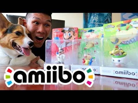 VLOGGING AMIIBOS: UNBOXING, GAMES & 10 NEW AMIIBO FACTS - Life After College: Ep.432
