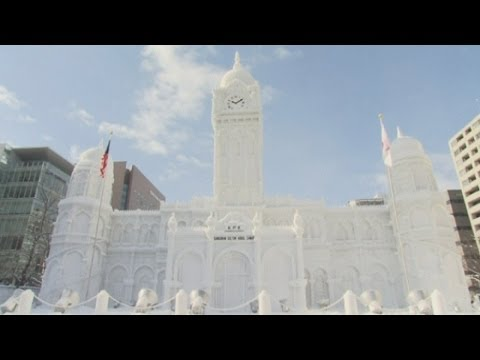 Japan Snow Festival: Amazing Sochi Olympics sculptures