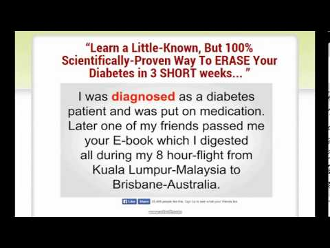 Reverse Your Diabetes Today does it really works cure diabetes naturally