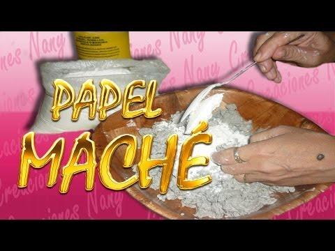 ELABORACIÓN DE PAPEL MACHE FACIL