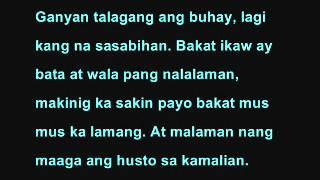 Batang Bata Ka Pa (Lyrics) - Apo Hiking Society view on youtube.com tube online.