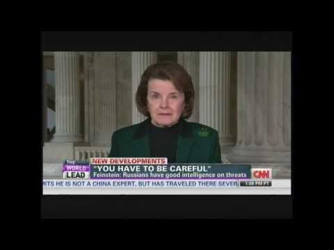 Senator Feinstein on Sochi terror threats