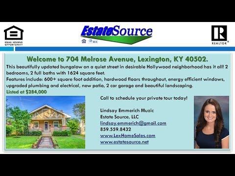 Home For Sale Lexington KY - Real Estate Virtual Tour - 704 Melrose Avenue, Lexington, KY 40502
