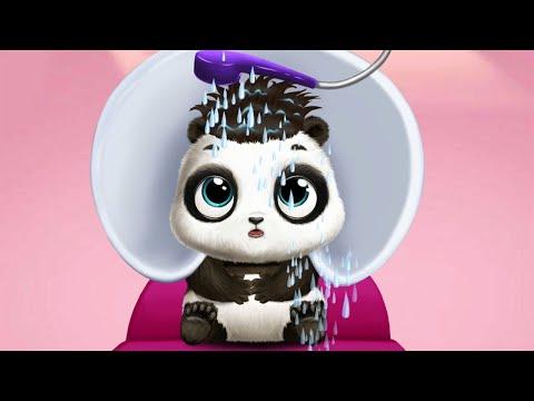 Panda Lu baby Bear City Fun Dress up baby pet and Care - funny pet game