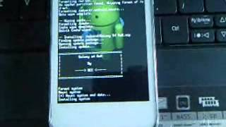 Flashing Alcatel One Touch Soleil From MIUI V5 To Galaxy