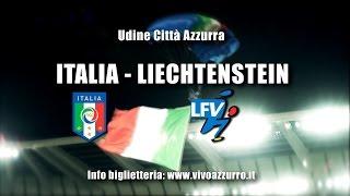 Udine Città Azzurra per Italia-Liechtenstein