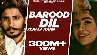 Barood Dil Korala Maan Gurlej Akhtar Video HD Download New Video HD
