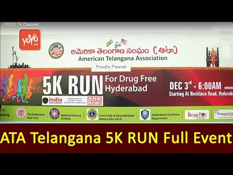 ATA Telangana 5K Run Full Event
