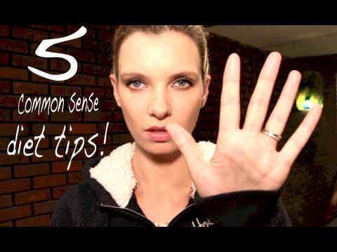 My Five Basic Diet Tips! | A Model Recommends