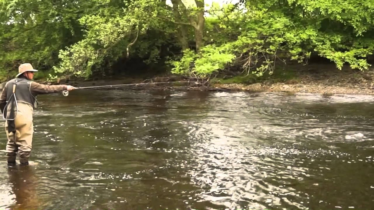 River fly fishing summer tactics youtube for Youtube trout fishing
