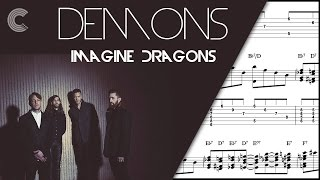 Guitar Demons Imagine Dragons Sheet Music, Chords