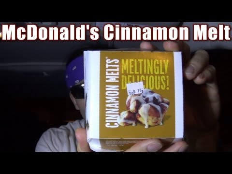 McDonalds Cinnamon Melt is Super Sweet Sugary Fun for $1 (Eating on the Run 31)