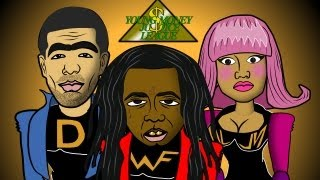 Lil Wayne SuperHero (Cartoon Spoof) Young Money Justice
