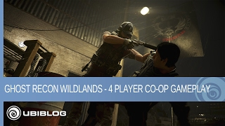 Ghost Recon Wildlands - 4 Player Co-Op Gameplay