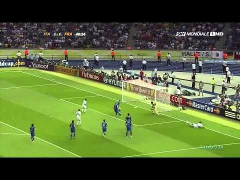 Italy vs France Full Match 1 1 5 3 HD World Cup 2006 Final English Commentary   YouTube