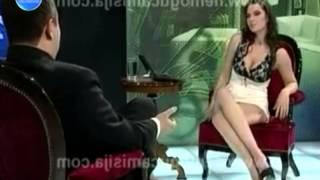 LBCI News- مذيعة من دون ملابس داخلية تحاور رئيس حكومة صربيا