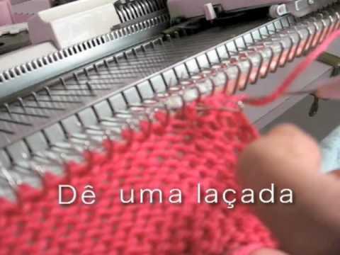 TRICÔ A MAQUINA - Arremates