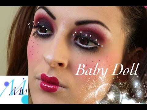 Maquillage Halloween : Baby Doll