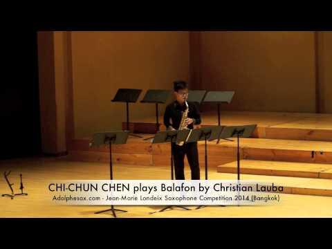 CHI CHUN CHEN plays Balafon by Christian Lauba