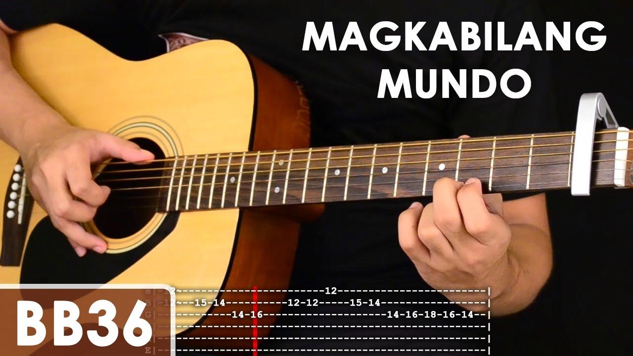 Magkabilang Mundo - Jireh Lim Guitar Tutorial (includes chords, strumming, adlib - solo lesson ...