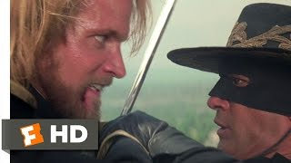 The Mask Of Zorro (8/8) Movie CLIP Zorro's Revenge (1998) HD
