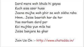 BANJARA FULL SONG LYRICS 2014 (Jaise Banjare Ko Ghar) Ek