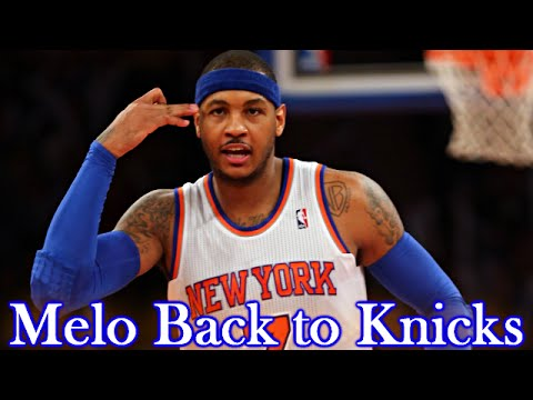 Carmelo Resigns with the Knicks