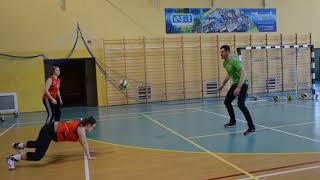Trening odbył się w hali miejskiej w Węgorzewie 13 lutego. Ćwiczenia prowadzili: trener Roberto Santi