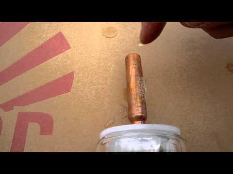 Napkollektor Tokyo Solar Heat Pipe vákuumcső teszt