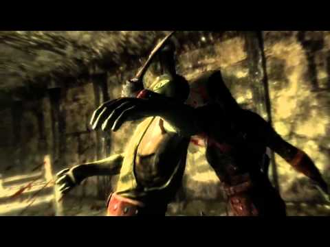 The Elder Scrolls V Skyrim Trailer - Animationen und Kills