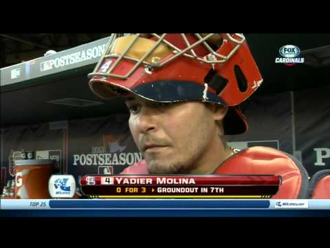 Yadier Molina after NLCS Game 2
