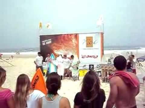 CIRCUITO ASN DE SURF, iTACOATIARA, MASSAGEM NA PRAIA.