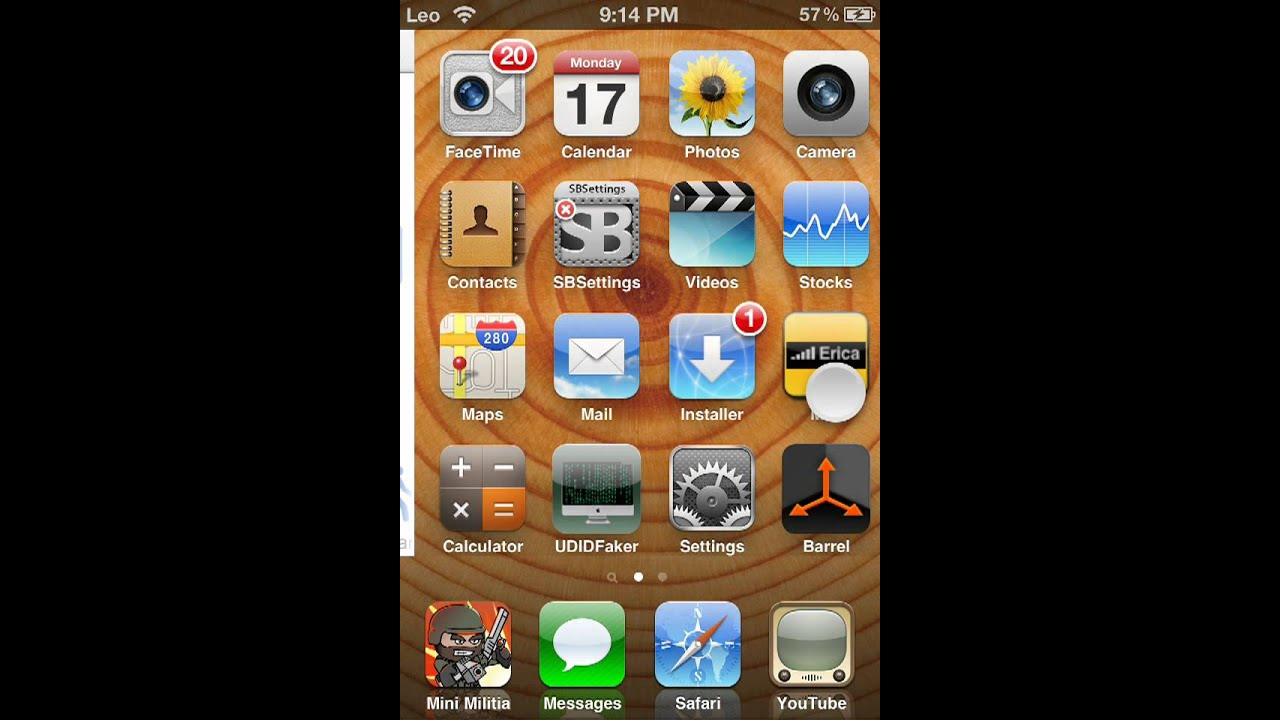 how to change ipod name in top left corner