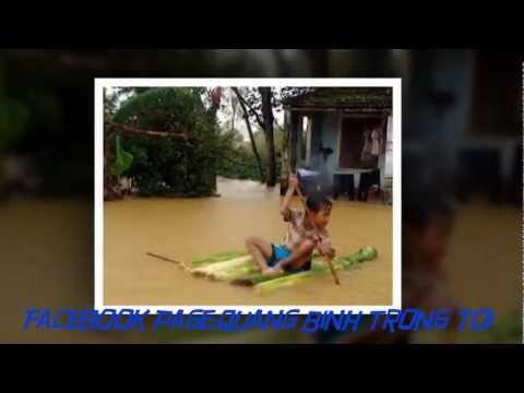 Video cảm động rơi nước mắt...Thương lắm miền Trung quê tôi!