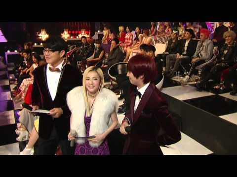 HeeDara - Heechul and Dara ( SBS Gayo Daejun 2013)