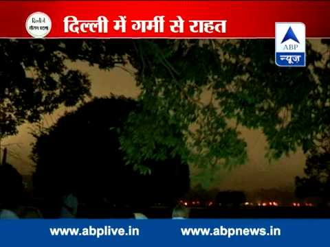 Sudden change in weather near Delhi and NCR
