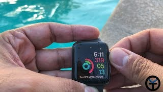 Apple Watch Series 3 LTE/GPS Pool Test (Watch Before Getting In The Water)