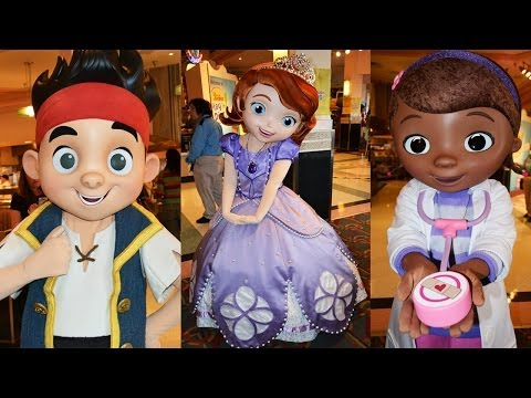 Doc McStuffins & Sofia the First Join Disney Junior Play 'n Dine, Disney's Hollywood Studios, Jake